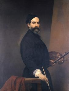 Self-Portrait at Age 57 by Francesco Hayez