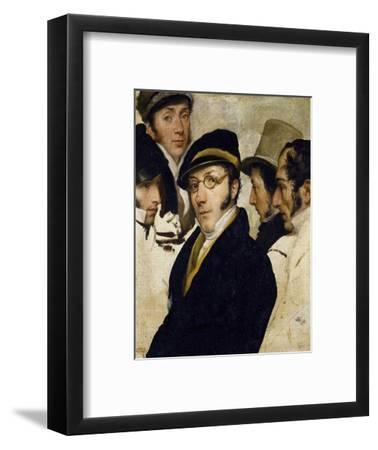 Self-Portrait with Friends Migliara, Palagi, Grossi, Molteni