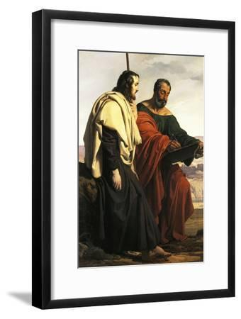The Apostles Philip and James on their Way to their Preaching, That Is, Two Exiled Patriots