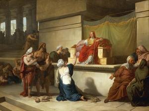 The Judgment of Solomon by Francesco Hayez