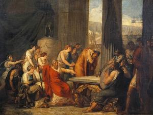 Ulysses at Court of Alcinous by Francesco Hayez