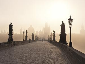 Europe, Czech Republic, Central Bohemia Region, Prague, Charles Bridge by Francesco Iacobelli