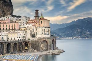 Italy, Campania, Amalfi Coast, Salerno district. Peninsula of Sorrento. Atrani. by Francesco Iacobelli