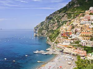 Italy, Campania, Salerno District, Peninsula of Sorrento, Positano by Francesco Iacobelli