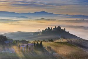 Italy, Tuscany, Siena District, Orcia Valley, Podere Belvedere Near San Quirico D'Orcia. by Francesco Iacobelli