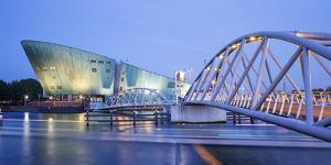 Netherlands, North Holland, Amsterdam. Nemo, Science and Technology Center (Renzo Piano Architect) by Francesco Iacobelli