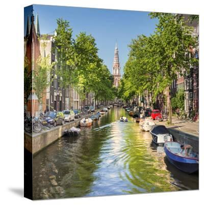 Netherlands, North Holland, Amsterdam. the Zuiderkerk Bell Tower