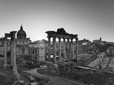 Roman Forum, Rome, Lazio, Italy, Europe by Francesco Iacobelli