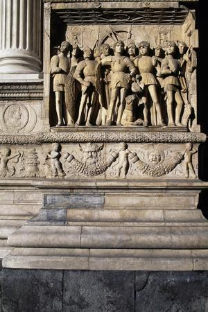Detail from Triumphal Arch of Alfonso the Magnanimous
