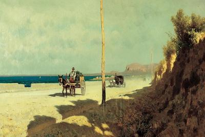Summer in Sicily. Palermo, Via Romagnolo, 1872