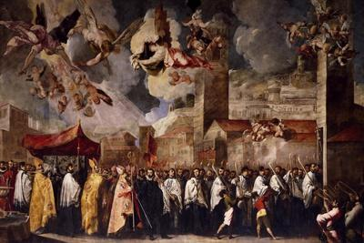 Procession to Transfer the Relics of the Holy Bishops to the Old Cathedral of St Peter, 1656