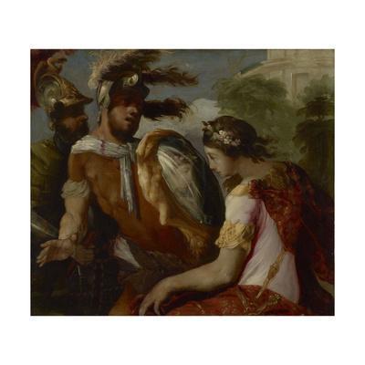 Rinaldo and the Mirror-Shield, c.1650-55