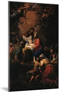 Nativity by Francesco Mancini