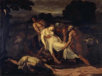 Queen Zenobia Taken from River Araxes by Shepherds