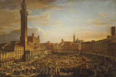 Walk of the Palio of August 18, 1833