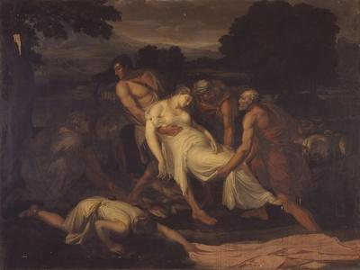 Zenobia Saved from the River Araxes by Shepherds