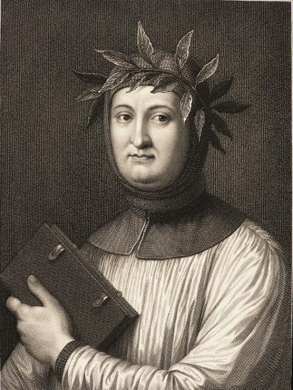 Francesco Petrarch--Giclee Print