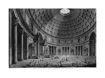 Interior View of the Pantheon-Francesco Piranesi-Giclee Print