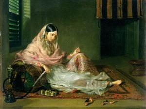 Muslim Lady Reclining, 1789 by Francesco Renaldi
