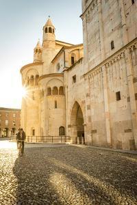 Modena, Emilia Romagna, Italy. Piazza Grande and Duomo Cathedral at sunset. by Francesco Riccardo Iacomino