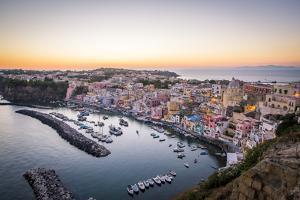 Procida, La Corricella Harbour. Campania, Italy. by Francesco Riccardo Iacomino