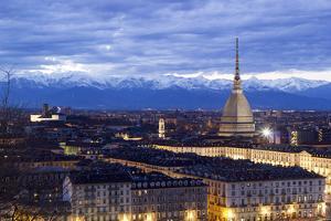 Turin, Piemonte, Italy. Cityscape from Monte Dei Cappuccini by Francesco Riccardo Iacomino
