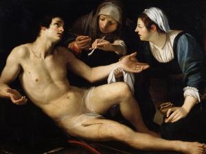Saint Sebastian, Late 16th or Early 17th Century by Francesco Rustici