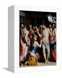 Incredulity of St. Thomas by Francesco Salviati
