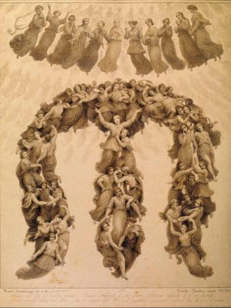 Illustration to the Divine Comedy by Dante Alighieri (Paradiso Canto XVII)