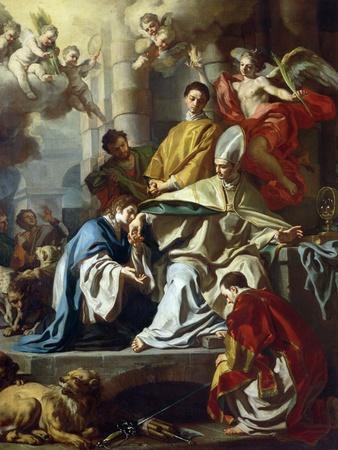 St. Januarius Visited in Prison by Proculus and Sosius