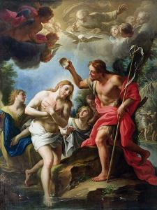 The Baptism of Christ, 1723 by Francesco Trevisani