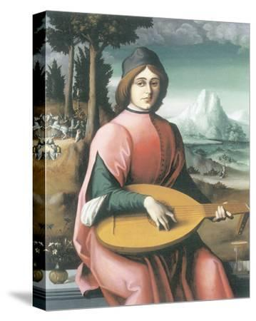 Portrait Of A Young Man With A Lute (Allegory Of Youth And Love)