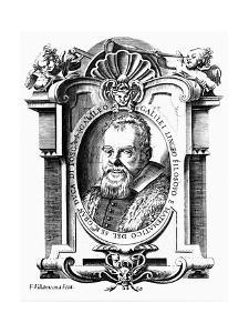 Galileo Galilei, Italian Astronomer and Mathematician, Early 17th Century by Francesco Villamena