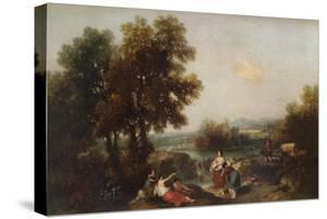 Landscape with Figures, 18th century, (1915) by Francesco Zuccarelli