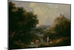 Landscape with Figures by Francesco Zuccarelli