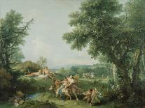 The Rape of Europa-Francesco Zuccarelli-Giclee Print
