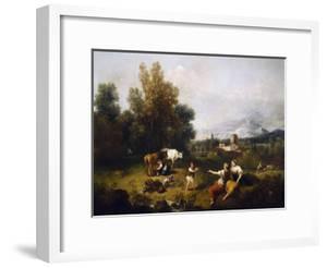 Pastoral Scene by Francesco Zuccarelli