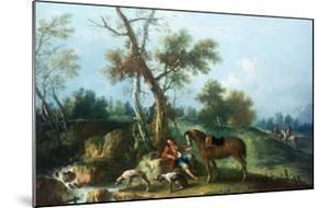 The Huntsman's Rest by Francesco Zuccarelli