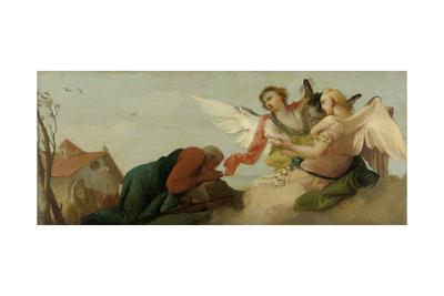 Abraham with the Three Angels, Francesco Zugno