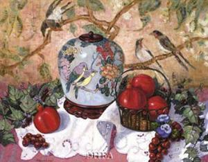 Grapes and Pomegranates by Francie Botke