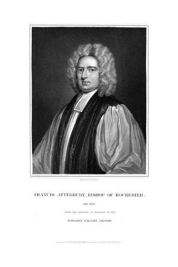 Francis Atterbury (1663-173) English Prelate, Polemical Writer and Orator, 1732-Godfrey Kneller-Giclee Print