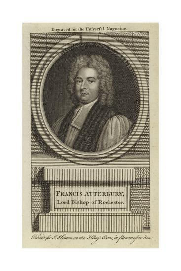 Francis Atterbury, Lord Bishop of Rochester--Giclee Print