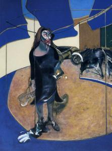 Portrait of Isabel Rawthorne Standing in a Street in Soho, c.1967 by Francis Bacon