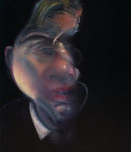 Three Studies of George Dyer by Francis Bacon