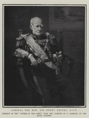 Admiral the Honourable Sir Henry Keppel by Francis Barraud