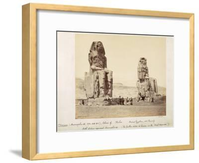 The Colossi of Memnon, Statues of Amenhotep III, XVIII Dynasty, c.1375-1358 BC