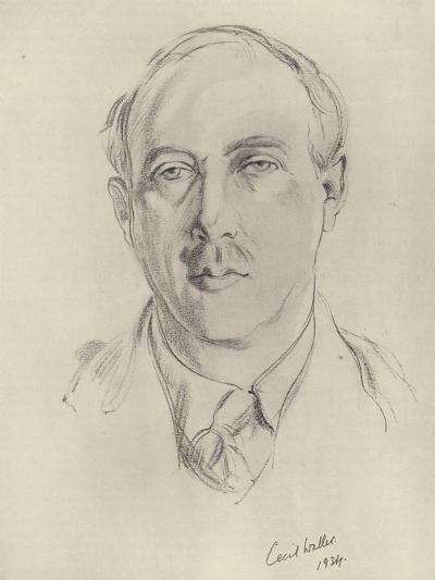 Francis Brett Young, English Novelist and Poet--Giclee Print
