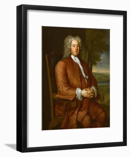Francis Brinley, 1729-John Smibert-Framed Giclee Print
