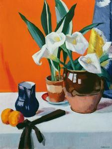Arum Lilies by Francis Campbell Boileau Cadell
