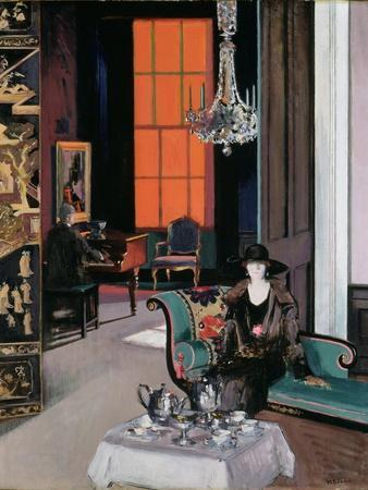 Interior - the Orange Blind, c.1928